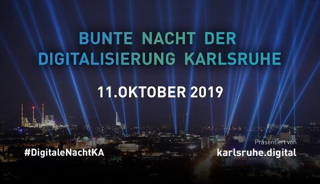 Bunte Nacht der Digitalisierung Karlsruhe